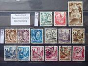 Besatzung Württemberg 1947-1948 2xPostfrisch