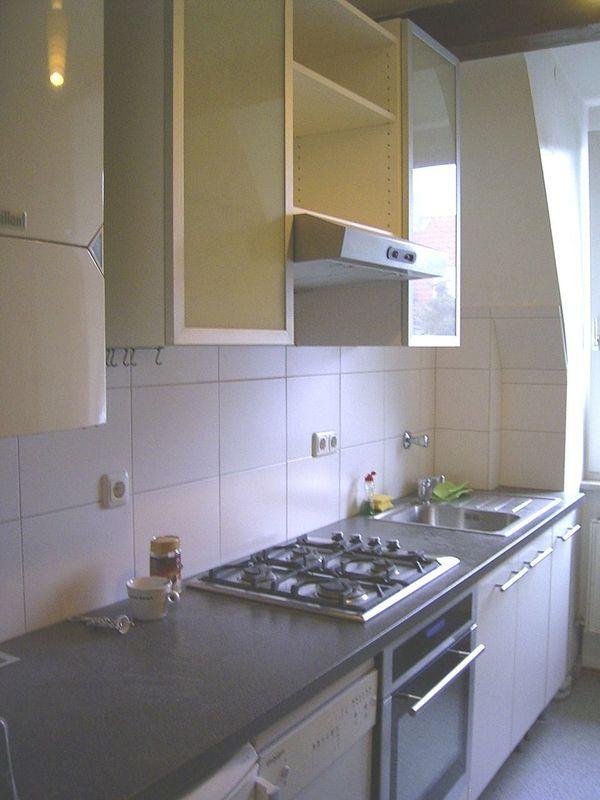 Komplette küche mit küchenzeilen anbauküchen