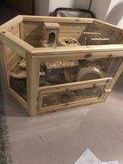 Nagerkäfig Komplettset für Hamster