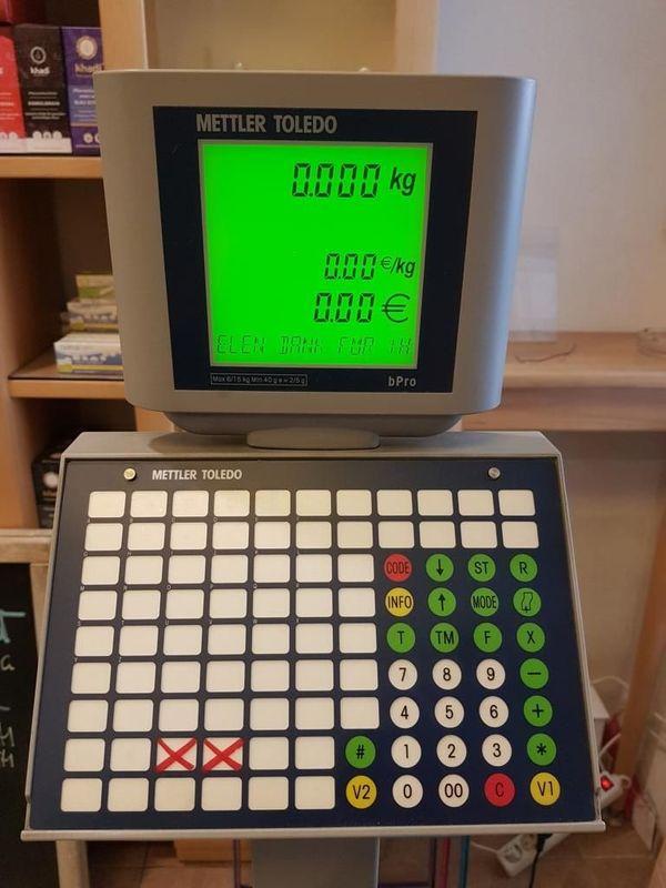 Kassensystem Kassenwaage mit Geldschublade METTLER