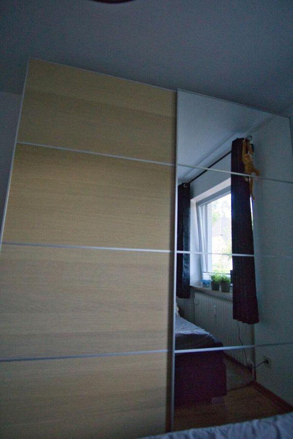 ikea kleiderschrank mit spiegel