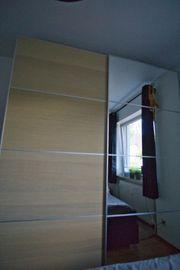 Pax Kleiderschrank mit Spiegel Eiche -