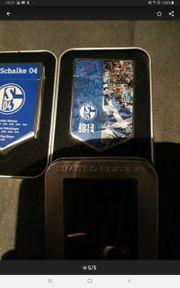 2x FC Schalke 04 Feuerzeuge