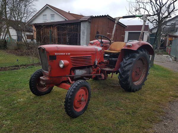 traktor schlepper oldtimer g ldner g30 s in aalen. Black Bedroom Furniture Sets. Home Design Ideas
