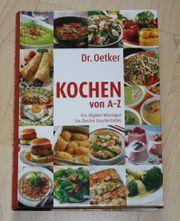 Dr Oetker Kochen von A-Z