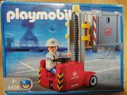 Playmobil Gabelstapler