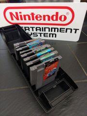 Nintendo NES Spiele Koffer