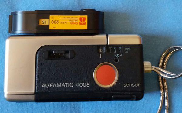 Kamera Sammler Vintage Agfa Agfamatic 4008 Pocket Sensor Pocketkamera Kamera