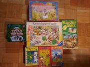 Verschiedene Kinder- Puzzle Spiele Splash