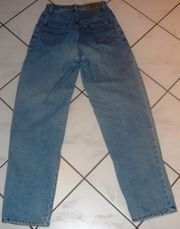 Jeans Hose blau Größe 164