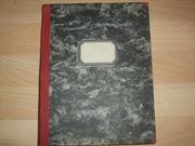 Notenbuch - wunderschönes gut erhaltenes altes