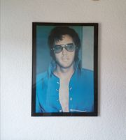 Elvis Presley Poster Bild eingerahmt