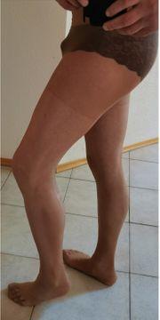 Frisch rasierter Nylonträger