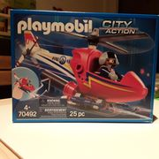 Playmobil 70492 city action Hubschrauber