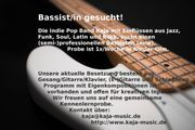 Indie Pop-Band sucht Bassist in