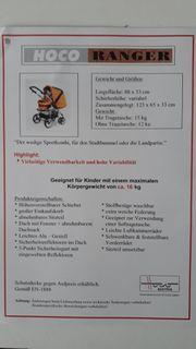 Hoco Ranger Sport-Kombi Kinderwagen
