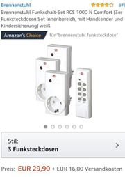 Brennenstuhl Funkschalt-Set RCS 1000 N