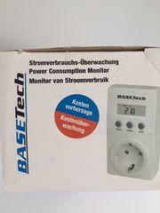 Energiekosten-Messgerät Stromverbrauch Überwachung - BaseTech weiß
