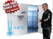 Kühlhaus Kühlzelle mit Aggregat Kostenlose