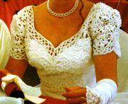 Romantisch elegantes Brautkleid Gr 36