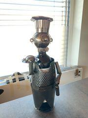 Dekorativer Flaschenhalter Rustic Chef