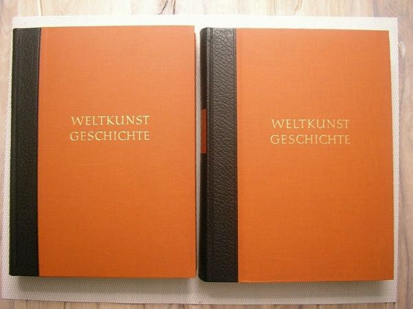 Weltkunst Geschichte 2 Bände neuwertig