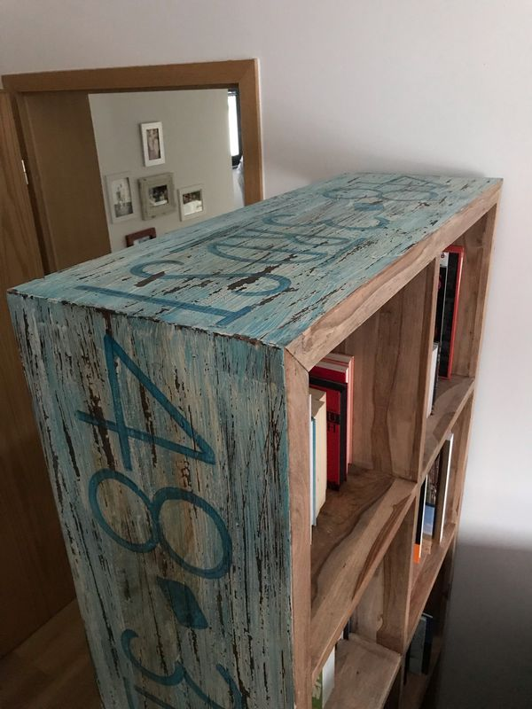 Raumteiler Bucherregal Sideboard Tv Board Sealife Sheesham Holz In