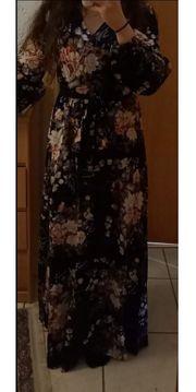 langes kleid marineblau