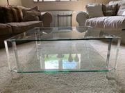 Design Glastisch Couchtisch Wohnzimmertisch Glas
