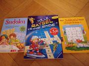 Sudoku Rätselbücher 1 mal ab