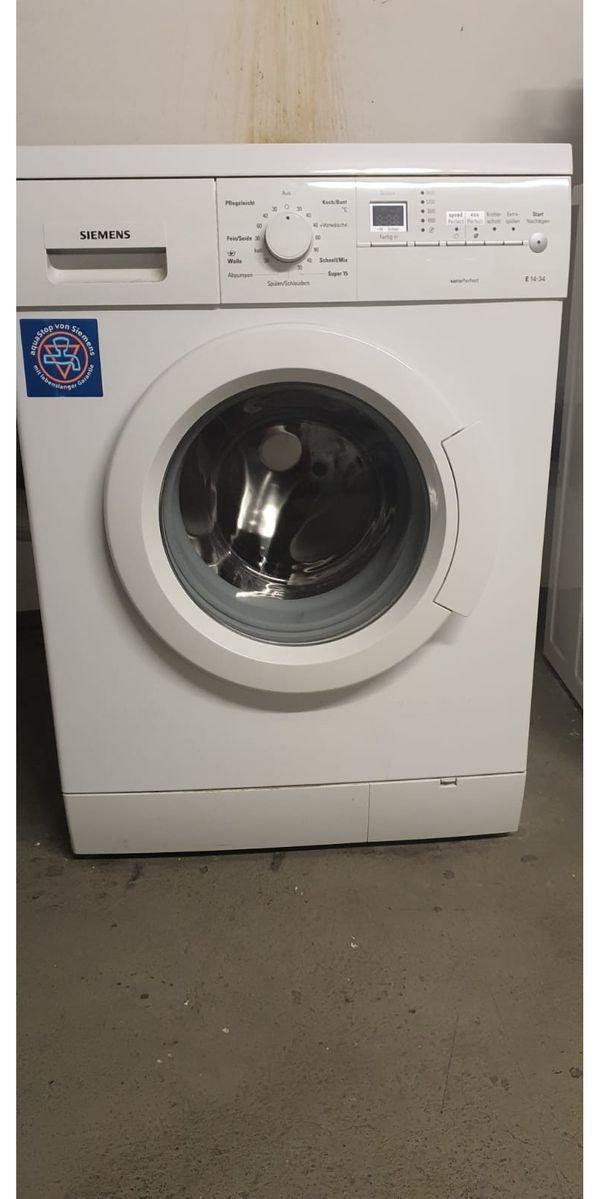 Siemens Waschmaschine sehr gepflegt