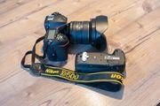 Fotokamera NIKON D 500 etc