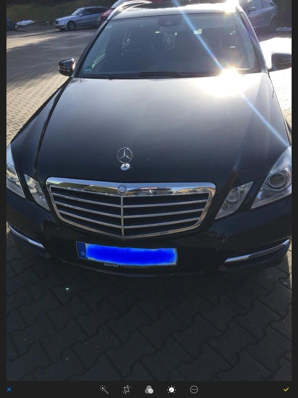 Mercedes Benz E-Klasse mit Garantie