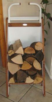 Kaminholzwagen Holzaufbewahrung