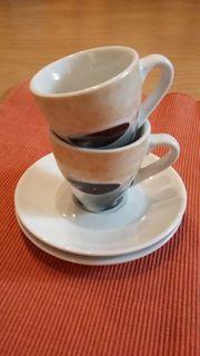 Espressotassen mitKaffeemotiv