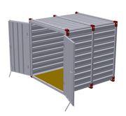 Lagercontainer Lagerraum Lagerung Länge 2