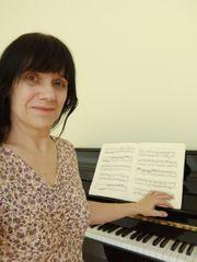 Klavierunterricht Orgelunterricht via Skype Christine