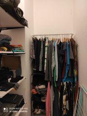 Einrichtung begehbarer Kleiderschrank komplett