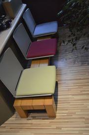 6 Sitzschalen Sitz Stuhl Kunstoff