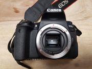 Canon EOS 77d mit drei