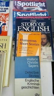 Viele zweisprachige und englische Bücher
