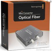 2x Optical Fiber Blackmagicdesign Mini