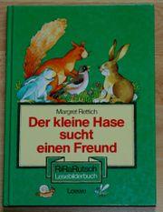 Kinder-Lese-Bilderbuch Der kleine Hase sucht