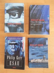 4x Philipp Kerr - Thriller Krimi