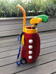 Golftasche und Schläger für Kinder
