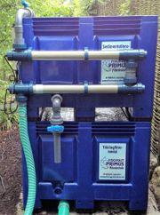 Teichfilter Modulfilter mit Twin Anlage