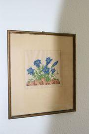 Gemälde Enzian von Martin Erich