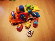Tututabschleppwagen inkl 6 Autos