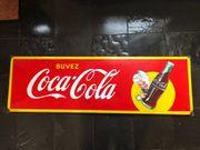 Selten gut erhaltenes Coca-Cola Emaille-Schild