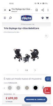 3-in-1 Kombikinderwagen - Chicco Trio Stylego